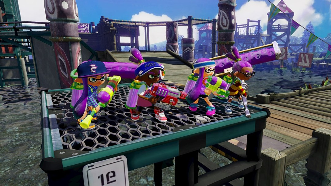 Splatoon-armes