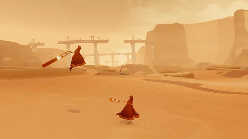 """Journey propose un mode co-op original qui casse les codes en privant les joueurs de voies de communication """"classiques"""""""