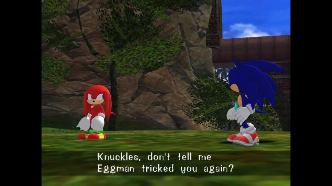 Avec son passage à la 3D, Sonic s'est entiché d'une voix et de cinématiques