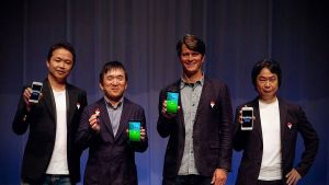 Masuda, Ishihara, Hanke et Miyamto