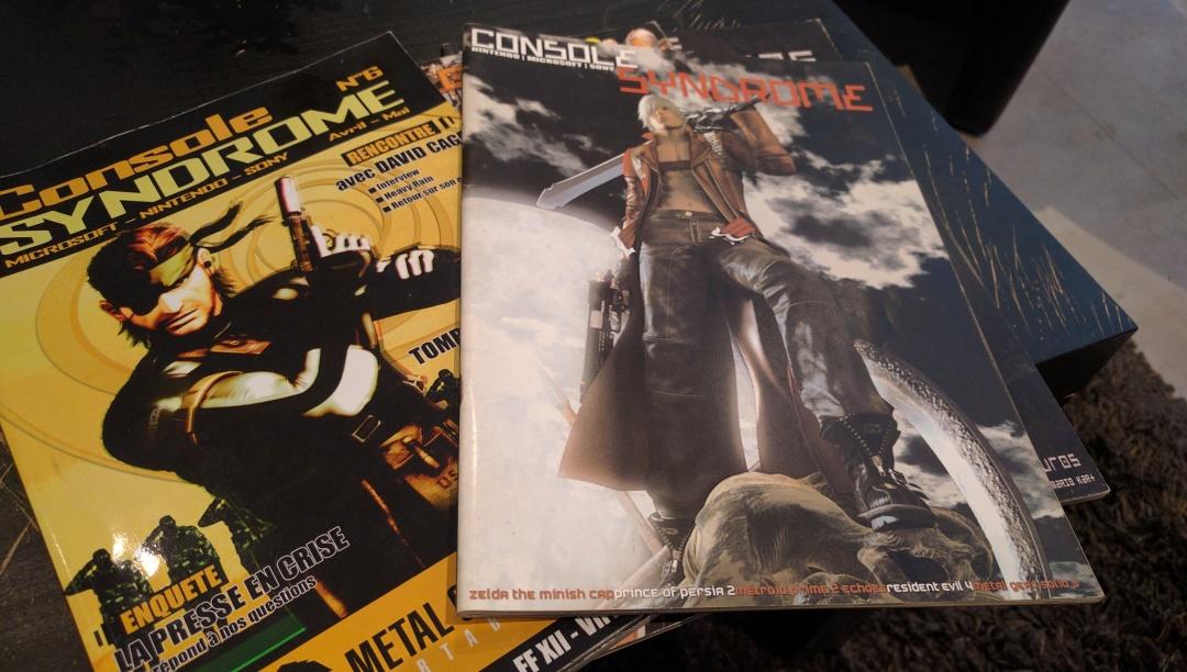 Malgré un contexte amateur, Console Syndrome avait tout d'un grand magazine.