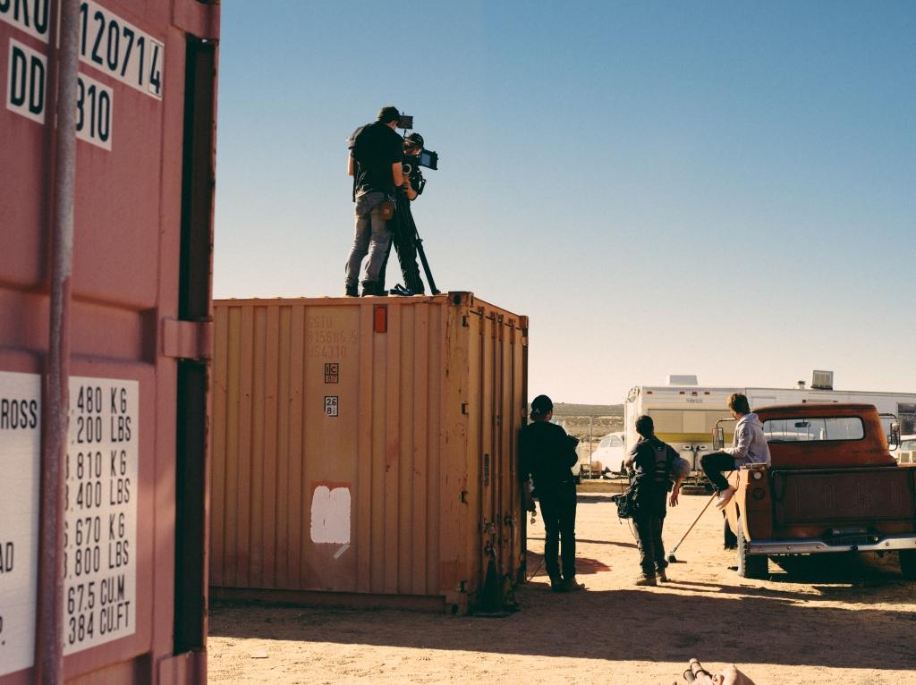 Le tournage a duré 14 jours, en plein désert