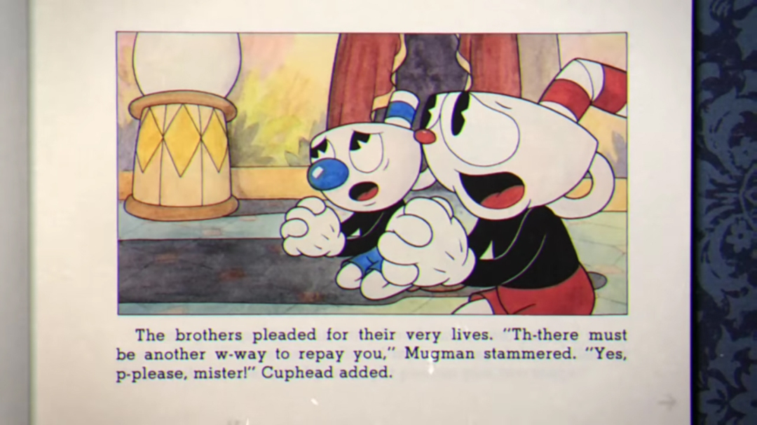 cuphead screen